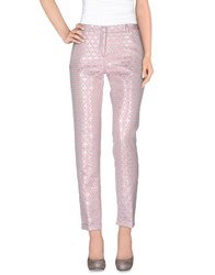Monocrom Trousers Casual Trousers Women Pink