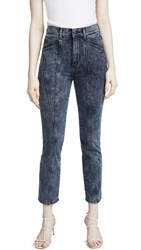 Dl1961 Mara Ankle High Rise Straight Jeans Afton
