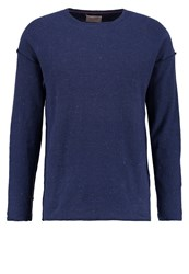 Nudie Jeans Tomas Jumper Navy Dark Blue