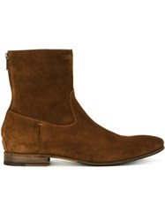 Pete Sorensen 'Macgill' Ankle Boots Brown