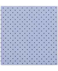 Tommy Hilfiger Men's Dot Print Pocket Square Blue