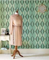 Graham And Brown Deco Diamond Wallpaper