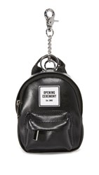 Opening Ceremony Oc Backpack Coin Purse Black Multi