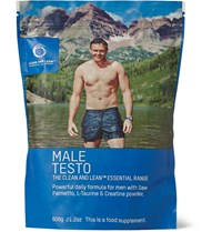 Bodyism's Clean And Lean Male Testo Powerful Daily Formula Blue