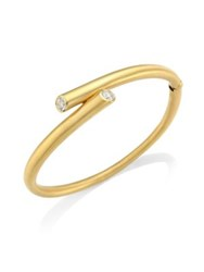 Carelle Whirl Diamond Bracelet Yellow Gold