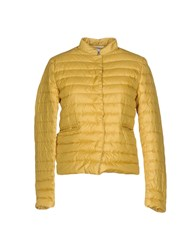 Aspesi Down Jackets Ocher