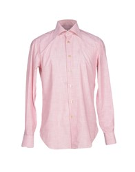 Kiton Shirts Shirts Men Red