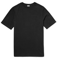 Loewe Printed Cotton Jersey T Shirt Black
