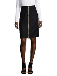 Rag And Bone Mazy Zip Front Wool Blend Skirt Salute