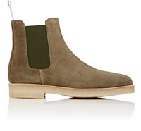 Common Projects Women's Chelsea Boots Dark Green