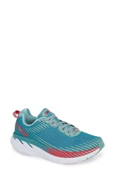 Hoka One One Clifton 5 Running Shoe Green Blue Slate Canton
