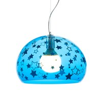 Kartell Children's Mini Fl Y Ceiling Light Stars Blue