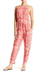 Roxy Dakota Tank Jumpsuit Pink