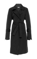 Protagonist Classic Trench Coat Black