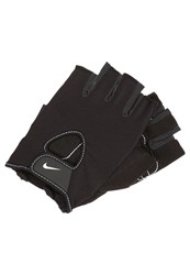 Nike Performance Fundamental Fingerless Gloves Charcoal Grey White Black