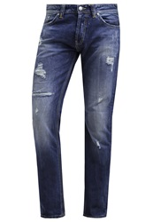 Ltb Hollywood Straight Leg Jeans Arville Wash Blue Denim