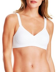 Warner's Just You Wirefree Bra White
