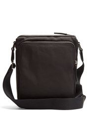 Burberry Aldgate Mini Nylon Messenger Bag Black