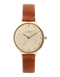 Skagen Denmark Wrist Watches Brown