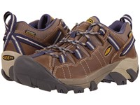 Keen Targhee Ii Waterproof Goat Crown Blue Women's Waterproof Boots Brown