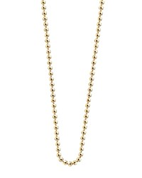 Jet Set Candy Ball Chain Necklace 16 Gold