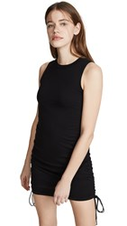 Cotton Citizen Lisbon Tank Dress Jet Black