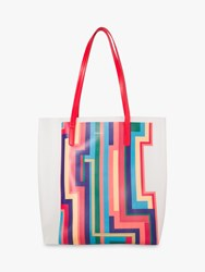Paul Smith Print Tote Bag 02_Offwh
