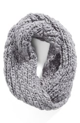 Women's Collection Xiix 'Roving Yarn' Twisted Cowl Scarf Grey Sleet Gray