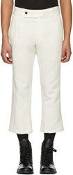 Ann Demeulemeester Off White Harbour Trousers