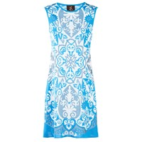 Ekaterina Kukhareva Paloma Dress White Blue
