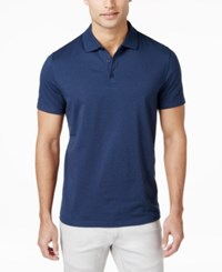 Alfani Men's Chambray Polo Only At Macy's Blue Jeans Combo