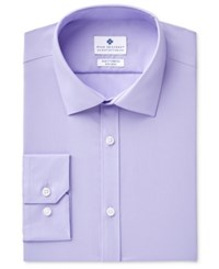 Ryan Seacrest Distinction Men's Ultimate Slim Fit Non Iron Performance Stretch Dress Shirt Created For Macy's Lilac Solid