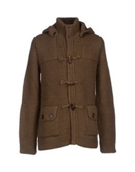 Gold Case By Rocco Fraioli Cardigans Military Green