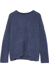 Vince Wool And Cashmere Blend Sweater Blue
