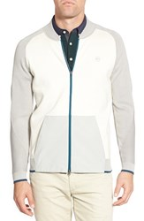 Ag Jeans Men's Ag 'Olympic' Slim Fit Colorblock Track Jacket Bright White