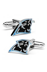 Cufflinks Inc. Men's 'Carolina Panthers' Cuff Links