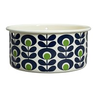 Orla Kiely Large Oval Flower Hanging Pot Apple