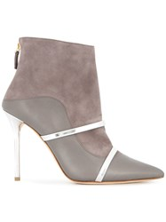 Malone Souliers Madison Ankle Boots Grey