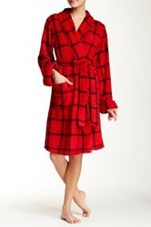 Casual Moments Shawl Collar Wrap Red