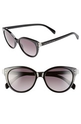 Women's Marc By Marc Jacobs 'Preppy' 51Mm Retro Sunglasses Milky Black