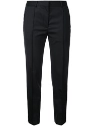 Rokh Classic Cigarette Trousers Women Wool 34 Black