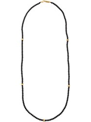Roman Paul Onyx Bead Necklace