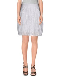 Marc By Marc Jacobs Skirts Knee Length Skirts Women White