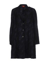 Barena Coats And Jackets Full Length Jackets Women Dark Blue