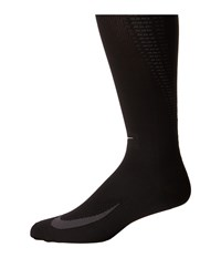Nike Elite Running Lightweight Over The Calf Black Anthracite Anthracite Knee High Socks Shoes