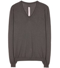 Rick Owens Cashmere Sweater Grey