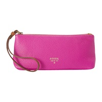 Fossil Leather Purse Hot Pink