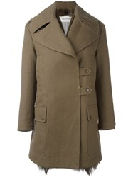 Valentino Military Coat Green