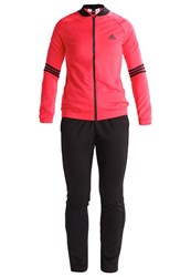 Adidas Performance Cosy Tracksuit Core Pink Black