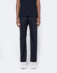 Acne Studios Ari Pop Trousers In Navy